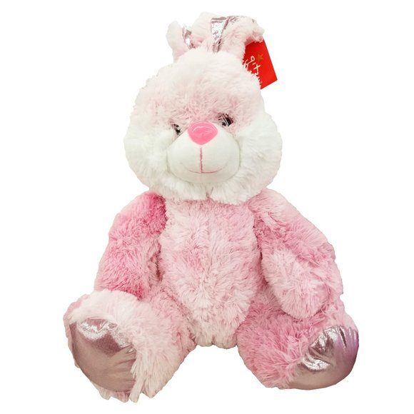 Gitzy Other - 🆕🥚Gitzy Easter Plush Pink Bunny